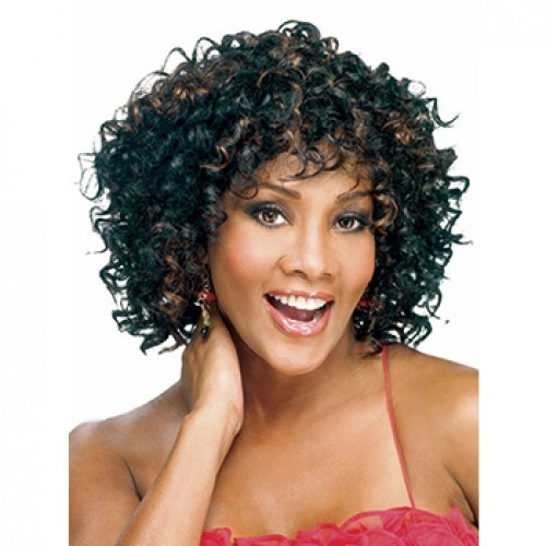 African American Specially Designed Short Curly Wig